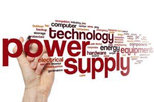 Power supply word cloud